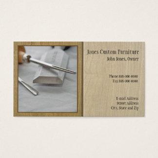Tischler-Visitenkarte Visitenkarte