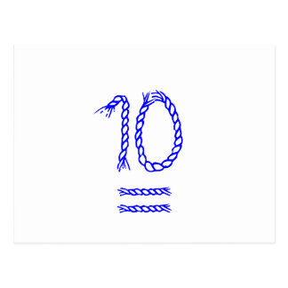 Tischnummer-Karten - Seemann-Knoten Postkarten