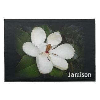 Tischset - Magnolien-Blüten-Foto
