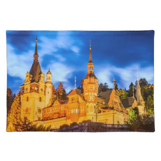 Tischset Peles Schloss Sinaia
