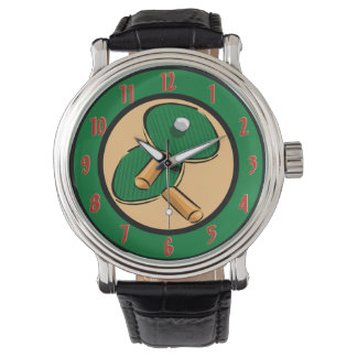 Tischtennis-Armbanduhr Uhr