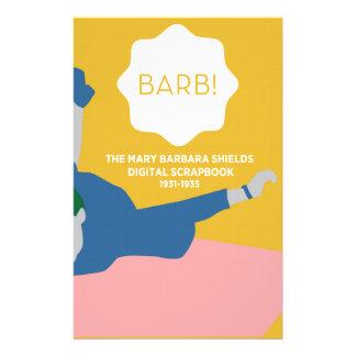 Tischtennis Barb Briefpapier