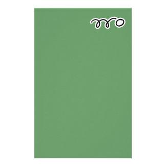 Tischtennis-Briefpapierpapier für das Schreiben Briefpapier