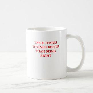 Tischtennis Kaffeetasse