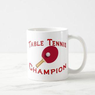 Tischtennis-Meister Kaffeetasse