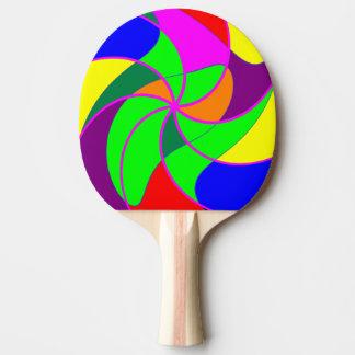 Tischtennis-Schläger/Paddel - färben Sie Tischtennis Schläger
