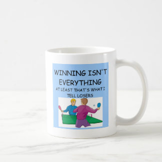 TISCHTENNIS-Sieger Kaffeetasse