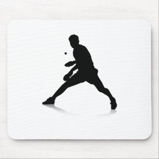 Tischtennis-Spieler Mousepads