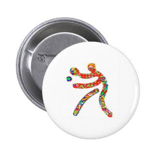 TISCHTENNIS Sport Runder Button 5,7 Cm