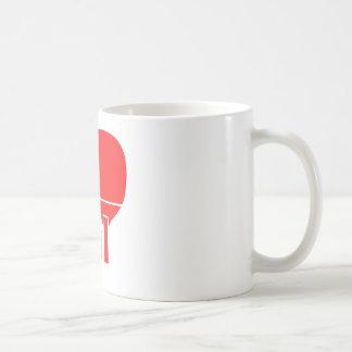 Tischtennis trägt Entwürfe zur Schau Kaffeetasse