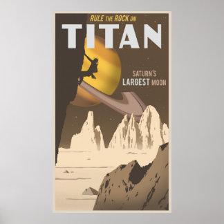 Titan - großes Format Poster