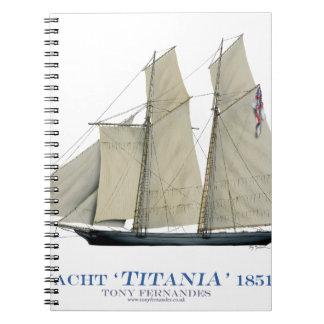 Titania 1851 spiral notizblock