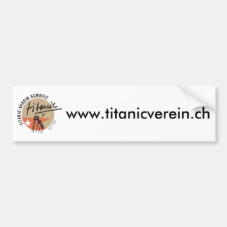 Titanic-Verein Schweiz  Auto-Aufkleber Autoaufkleber