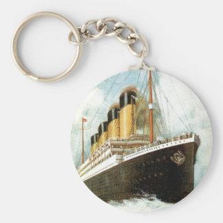 Titanisch in Meer Schlüsselanhänger