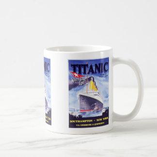 Titanisch, titanisch, kaffeetasse