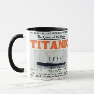 Titanische Königin des Ozeans - weiße Stern-Linie Tasse