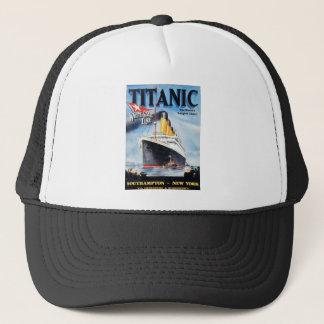 Titanische weiße Stern-Linie - die größte Truckerkappe