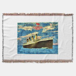 Titanische Wurfs-Decke Decke