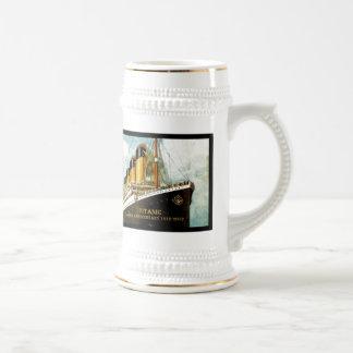 Titanischer 100. Jahrestag Effektivwerts Bierglas