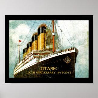 Titanischer 100. Jahrestag Effektivwerts Poster