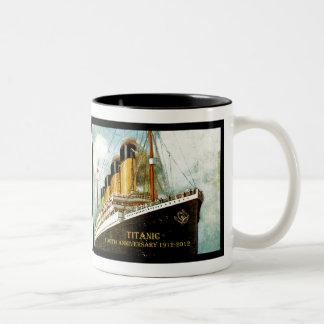 Titanischer 100. Jahrestag Effektivwerts Zweifarbige Tasse