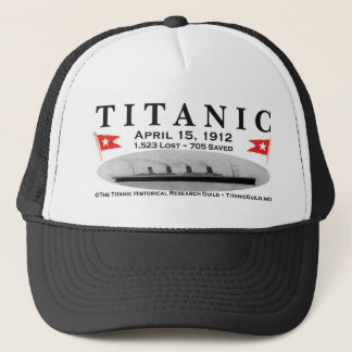 Titanischer Geist-Schiffs-Fernlastfahrer-Hut Truckerkappe
