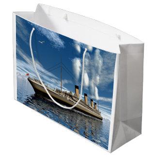 Titanisches Schiff - 3D übertragen Große Geschenktüte
