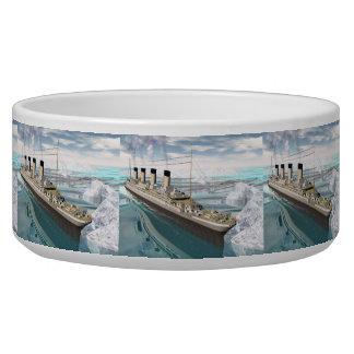 Titanisches Schiff - 3D übertragen Napf