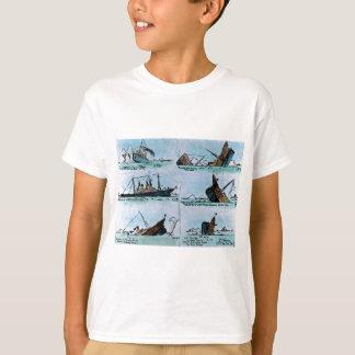 Titanisches sinkendes magische Laternen-Dia T-Shirt