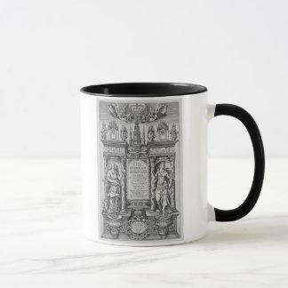 """Titelblatt """"der Arbeiten von James I"""", vorbei Tasse"""