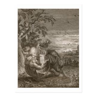 Tithonus, der Ehemann der Aurora, machte zu ein Postkarte