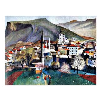 Tivadar Kosztka Csontvary Kunst: Spingtime in Postkarte