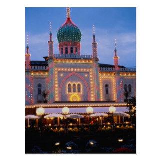 Tivoli-Gärten in Kopenhagen, Dänemark Postkarte