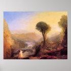 Tivoli - Tobias und der Engel durch Joseph Turner Poster