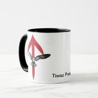 Tiwaz Presse-Kaffee-Tasse Tasse