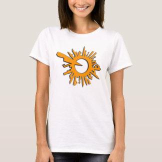TKD gezacktes Sun Logo T-Shirt