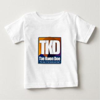 TKD Taekwondo - die Weise der Hände und der Füße Baby T-shirt