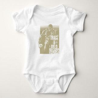 tnf Held-Kugelstoßen Baby Strampler