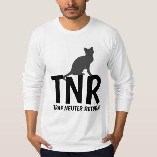 TNR BLOCKIERneutrum-RÜCKKEHR Katze-T-Shirts T-Shirt