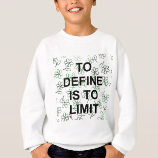 TO definiert I TO LIMIT.jpg Sweatshirt