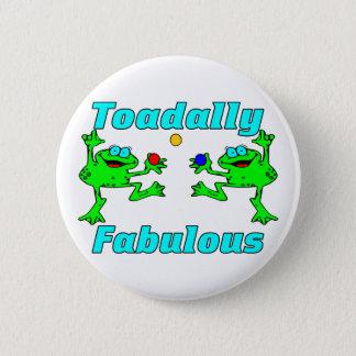 Toadally fabelhaft runder button 5,7 cm