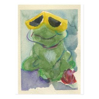 Toadally fantastischer Tyrone T. Toad Postkarte