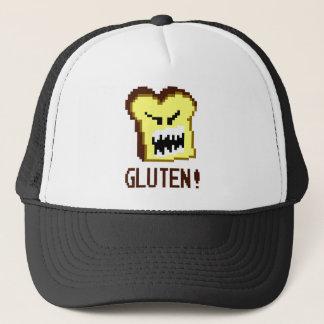 Toast, die Gluten-Bedrohung: 8-Bitart Truckerkappe