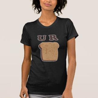 Toast-Mädchen-T-Stück U R T-Shirt