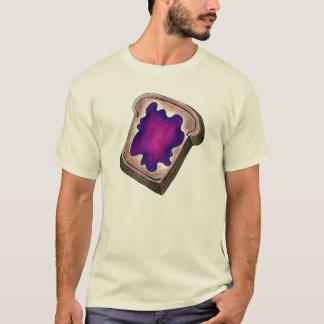 Toast-Scheibe Toastbrot mit T-Shirt