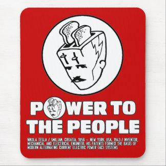 Toasterhead Tesla Power Mousepad