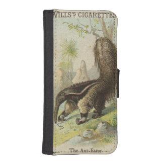 Tobacciana Vintager Willenszigaretten-Karte iPhone SE/5/5s Geldbeutel Hülle