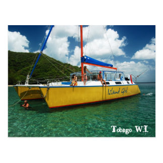 Tobago W.I. Postkarte