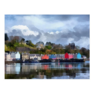 Tobermory Hafen Postkarte