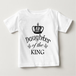 Tochter des Königs Quote Baby T-shirt